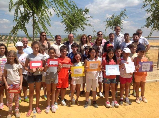Inauguración de parque de Los Higuerones de las Brujas en Arjona (Jaén)