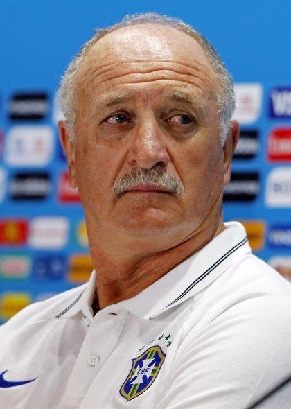 """Scolari: """"Tengo la alineación contra Alemania, pero no la diré"""""""