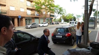 LLuis Motes llega al juzgado para declarar por supuesta irregularidades en RTVV a gritos de corrupto