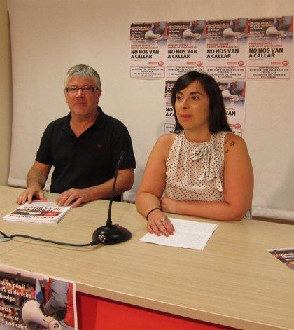 CCOO y UGT reclaman que se indulte a las personas condenadas por participar en las huelgas