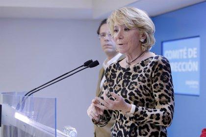 """Aguirre cree que la crisis es la oportunidad para """"auditar"""" el Estado de las Autonomías y """"corregir lo superfluo"""""""