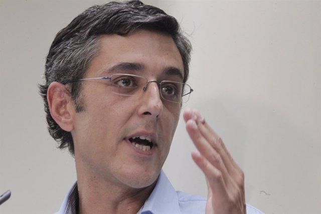 Eduardo Madina presenta su candidatura a la Secretaría General del PSOE