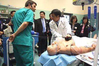 Salud forma a un grupo de profesionales tailandeses en simulación aplicada al entrenamiento sanitario