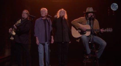 Crosby, Stills & Nash versionan a Iggy Azalea con Jimmy Fallon