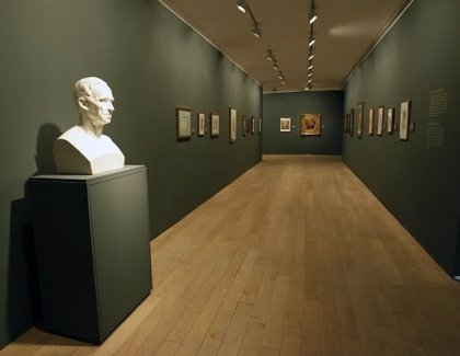 La Fundación Botín ofrece esta tarde una visita guiada a la exposición de dibujos de José de Madrazo