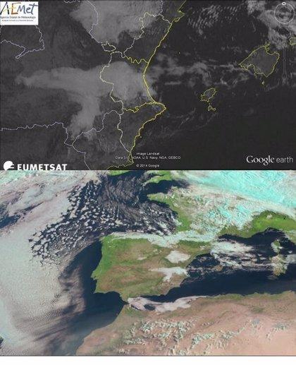 Valencia amanece cubierta de nubes bajas mientras que Castellón sigue en alerta por vientos