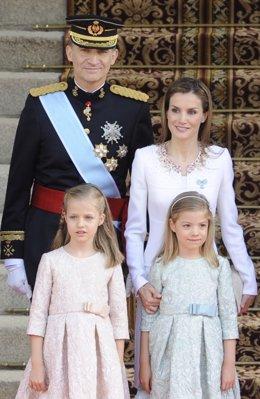 Familia real vacaciones en almería cabo de gata