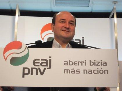 PNV defenderá los derechos nacionales vascos por todas las vías democráticas