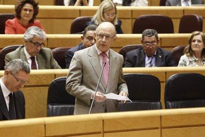 Economía/Macro.- El Senado ratifica el techo de gasto con los votos de PP y UPN, primer paso de los Presupuestos de 2015