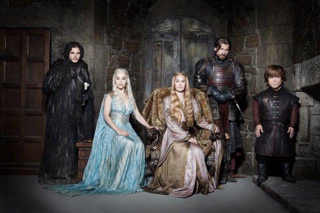 Protagonistas de Juego de tronos