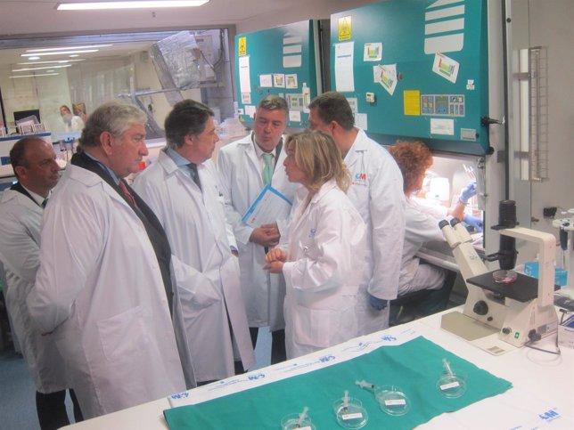 Llaboratorio donde se investida gel mucrobicida para la prevención del VIH