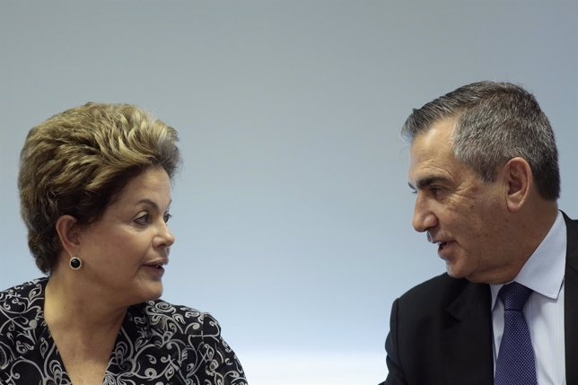 Dilma Rousseff y Gilberto Carvalho