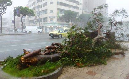 Asciende a tres el número de muertos provocados por el paso del tifón 'Neoguri' por Japón