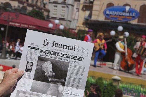 Ratatouille llega a Disneyland Paris