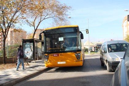 El transporte urbano por autobús sube un 2,6% en Castilla-La Mancha en mayo