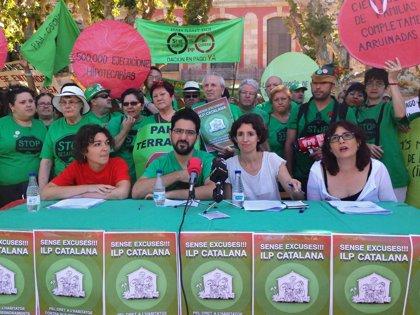 """La PAH impulsa una ILP contra la """"emergencia"""" provocada por desahucios y pobreza energética"""