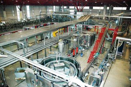 Economía.- Mahou San Miguel invirtió 12 millones en su centro de elaboración de cerveza de Alovera (Guadalajara) en 2013