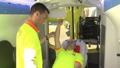 Crean un método pionero para identificar los ictus más graves en la ambulancia