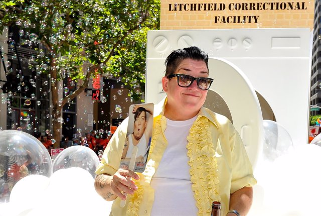 Lea DeLaria, protagonista de Orange Is The New Black