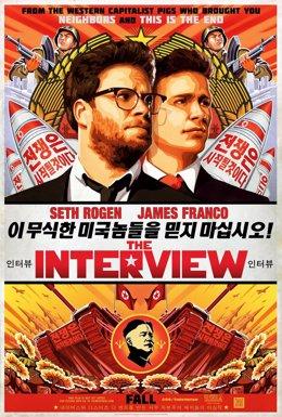 Cartel promocional de The Interview