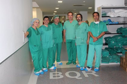 El hospital de Santa Lucía aborda por primera vez dos nuevas técnicas quirúrgicas artroscópicas