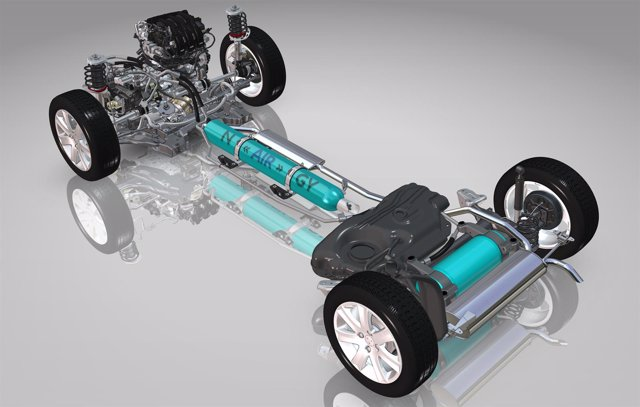 Tecnología Hybrid Air de PSA Peugeot Citroën