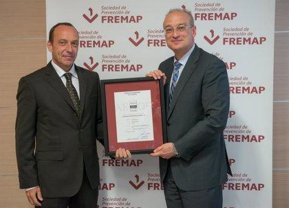 La Sociedad de Prevención de Fremap consigue la acreditación de 'Empresa Saludable' de AENOR