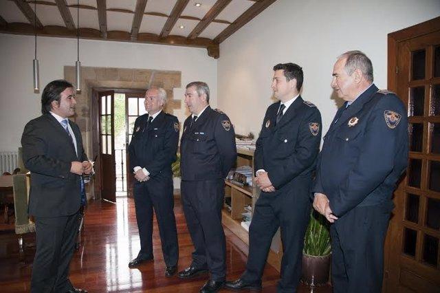 Nuevos cabos de la Policía Local de Camargo