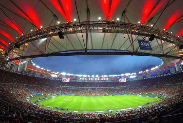 El estadio de Maracaná de Río de Janeiro