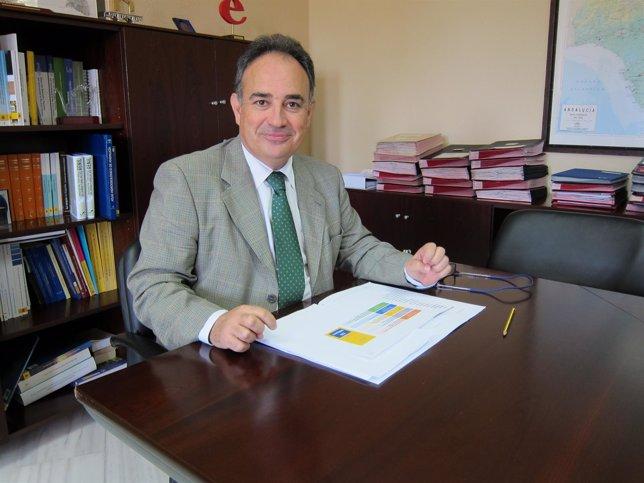 El presidente de la CHG, Manuel Romero