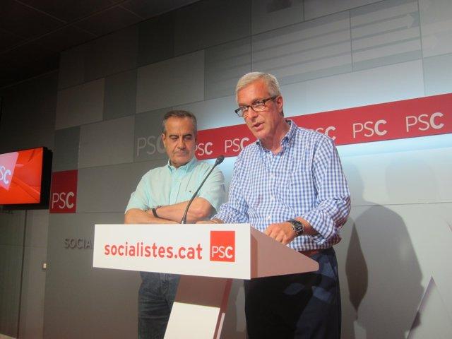 C.Corbacho y J.F.Ballesteros (PSC)