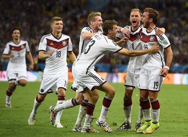 Alemania, campeona del Mundo por cuarta vez