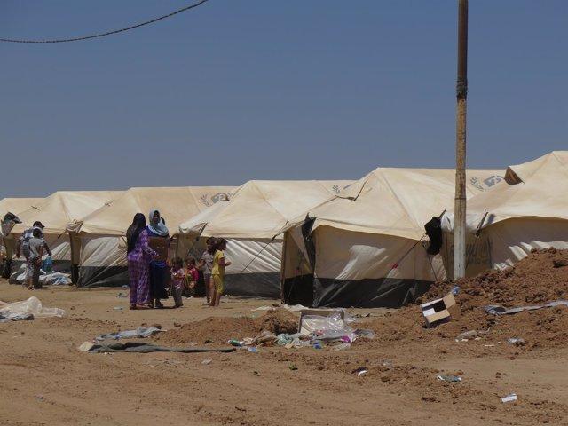 Campamento de desplazados de Kalak (Irak)