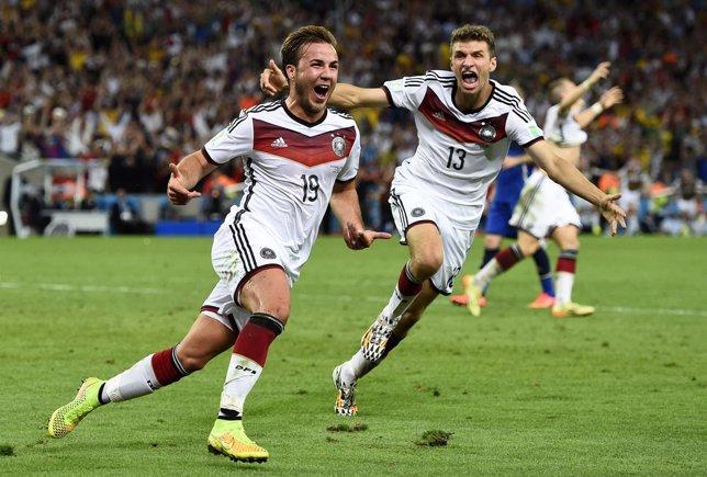 Alemania, campeona del Mundo con gol de Götze