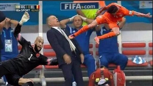 El 'meme' que resume grandes momentos del Mundial