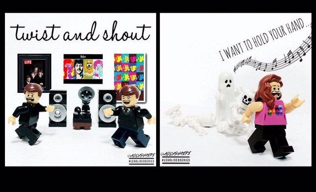 10 Clásicas Portadas De Los Beatles En Versión Lego