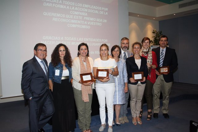 Premiados con 'La ONG del Empleado de Lilly'
