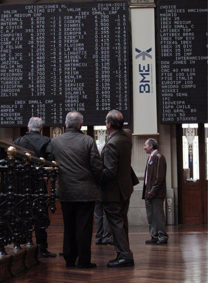 Economía/Bolsa.- El Ibex conquista los 10.600 enteros tras subir un 0,64% al cierre de sesión