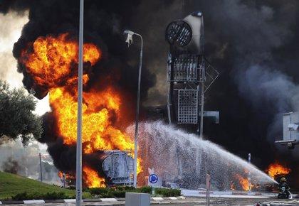 Heridas dos niñas israelíes por la explosión de un cohete palestino