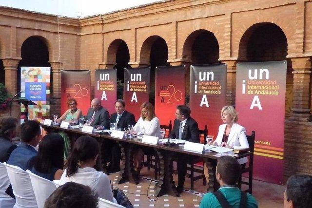 Inauguración de los Cursos de Verano 2014 de la UNIA en La Rábida