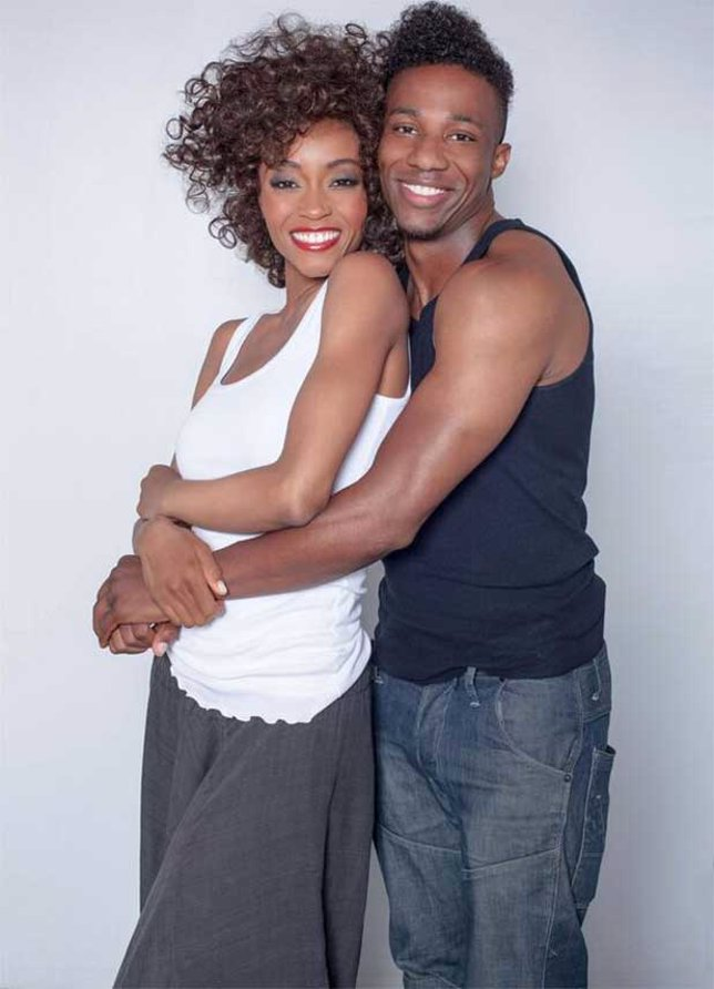Whitney y Bobby en el biopic de Lifetime