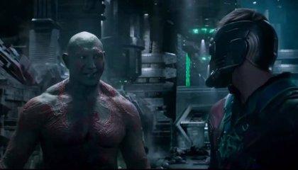 VÍDEOS: Clips de Guardianes de la galaxia, Drax sabe sonreir.