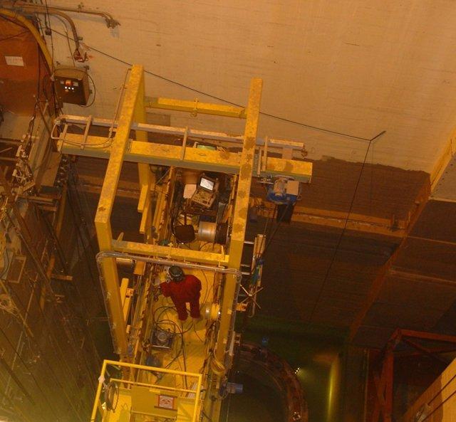 Corte reactor nuclear Zorita