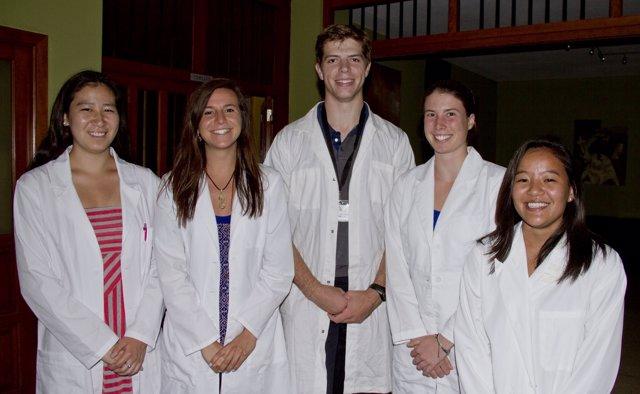 Alumnos del Proyecto Atlantis