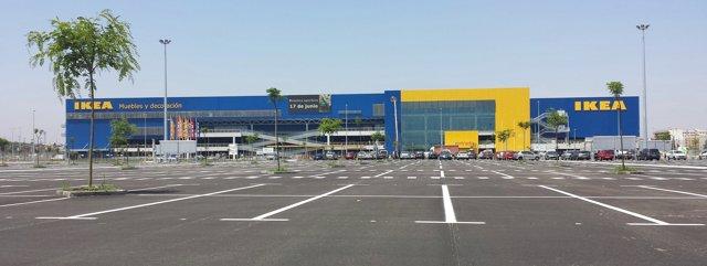Tienda de Ikea en Alfafar (Valencia).