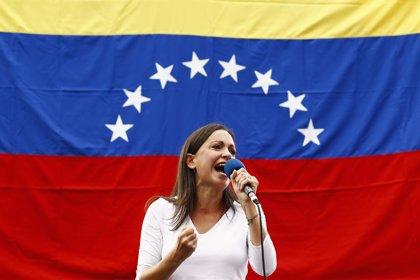 """Machado afirma que la MUD tiene una estrategia para liberar a López y al resto de """"presos políticos"""""""
