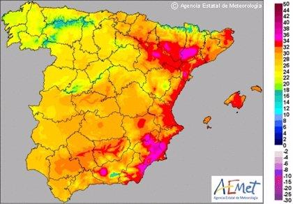 Valencia y Alicante, en alerta amarilla por altas temperaturas que podrían alcanzar los 38 grados