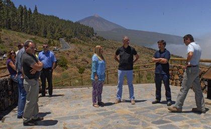 Concluyen los trabajos de acondicionamiento del Mirador de la Bermeja en La Orotava