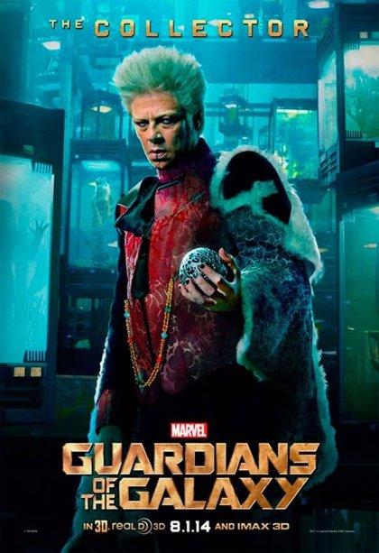 Así es Benicio del Toro en 'Guardianes de la Galaxia'