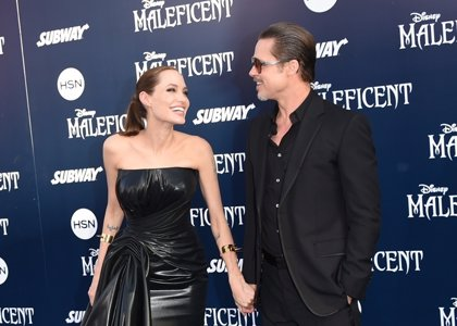 Angelina Jolie y Brad Pitt, juntos en 'By The Sea'